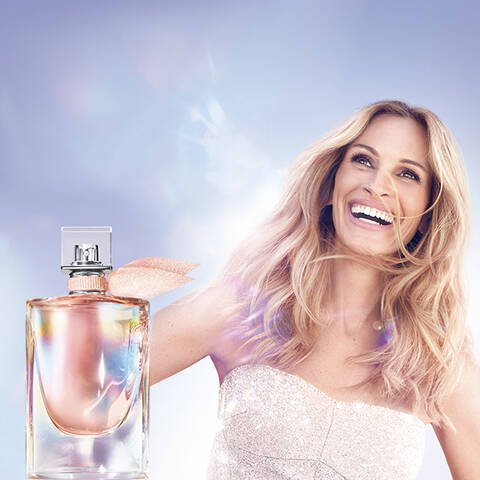New La vie est belle Soleil Cristal with Julia Roberts