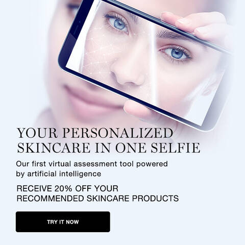 your personallized skincare in one selfie