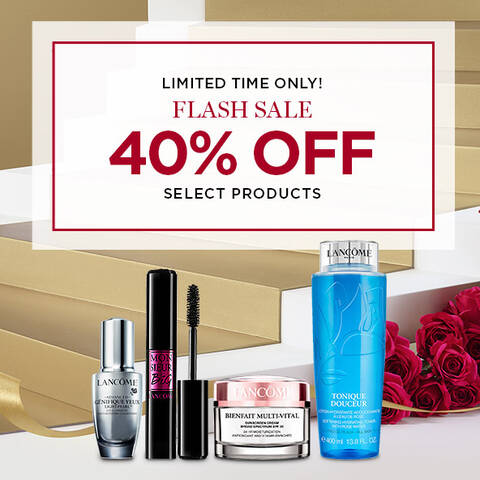 Limited Time Only! Flash Sale. 40% off select products. Must be signed in to receive 40% off.