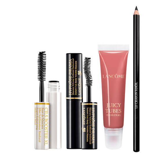 Dramatic Eyes & Juicy Lips Kit(浓密美睫和水润唇部护理套装)
