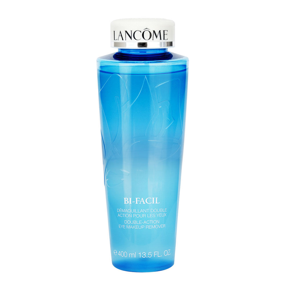 Lancome  Bi-Facil Double-Action 4.2-ounce Eye Makeup Remover Duo (Pack of 2) PetScribed Aloe Vera Ear Cleansing & Drying Solution [Cucumber Melon scent] (8 oz)